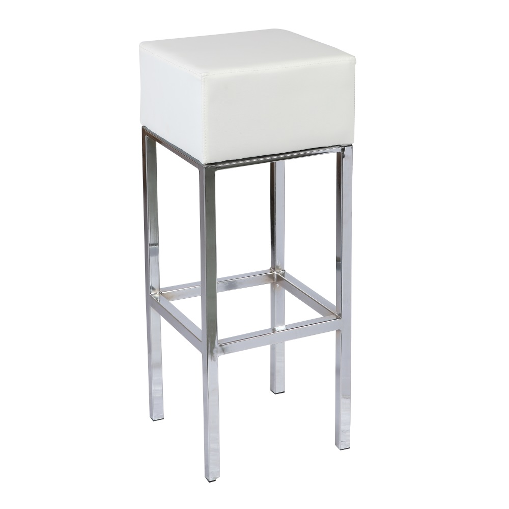 Cubo wit-chroom